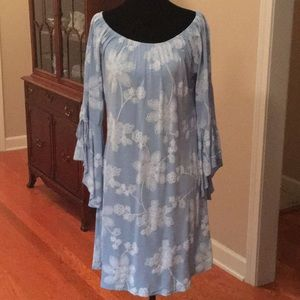Powder blue Boutique shift Dress size Large